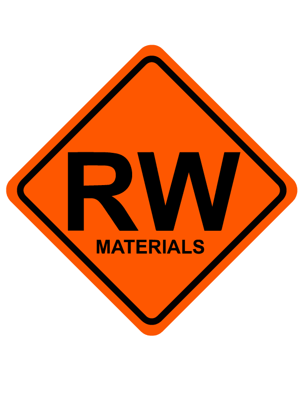 Road Works Materials Logo